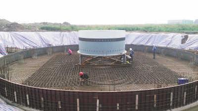风电基座 - 产品展示 - 河北强通钢结构有限公司